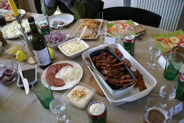 デンマークの食事