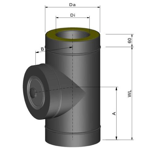 断熱二重煙突 T型