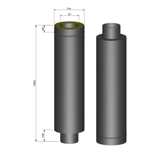 断熱二重煙突スタート900mm