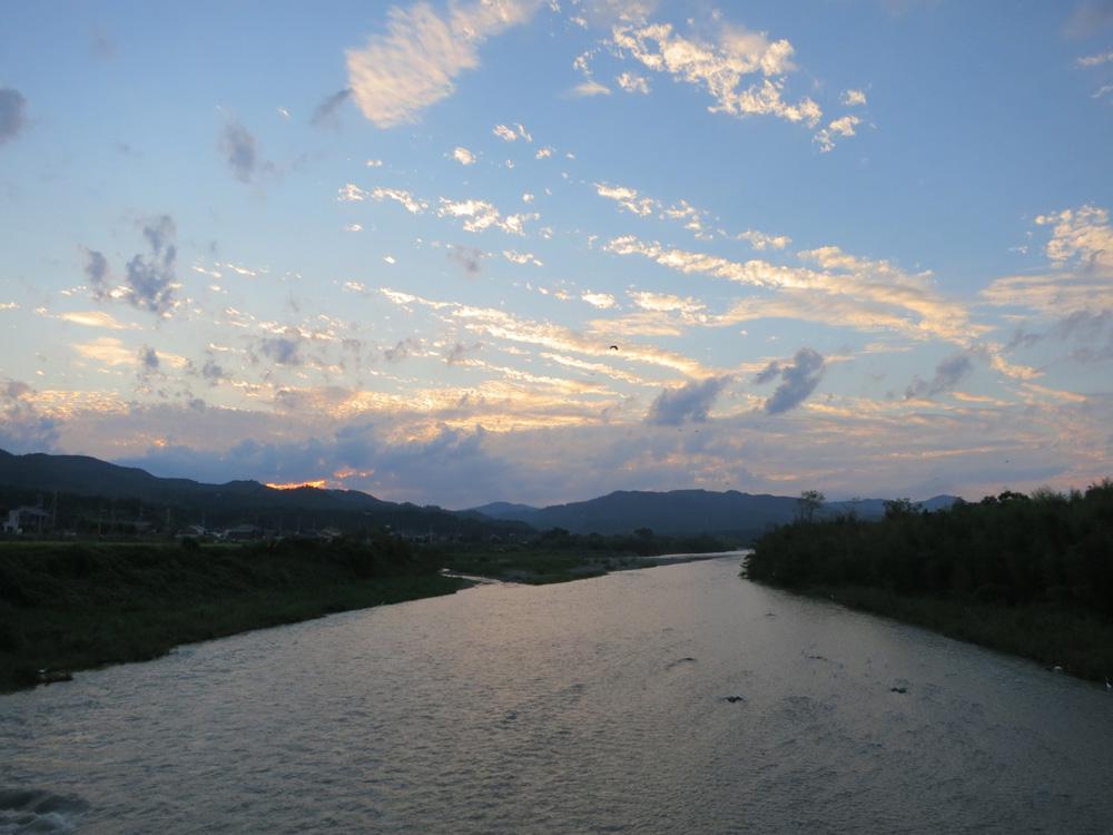 安曇川流域