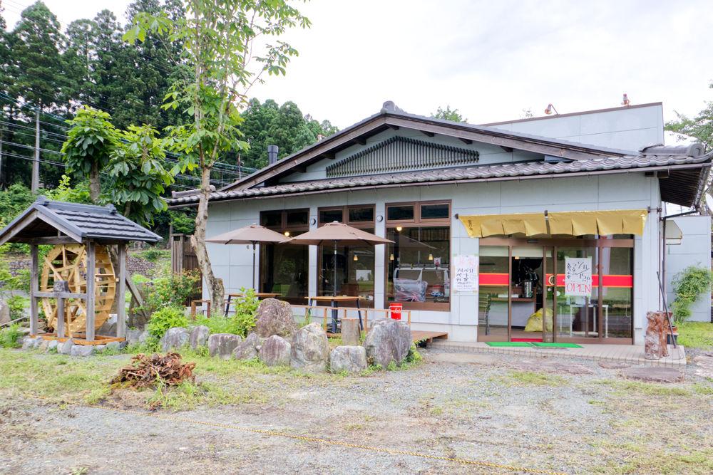 朽木のラーメン店